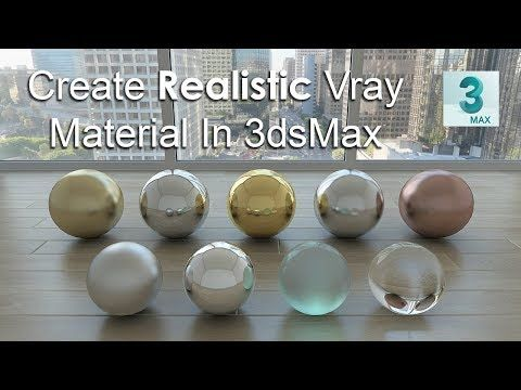 YouTube | Material | Vray tutorials, 3ds max, Concept art