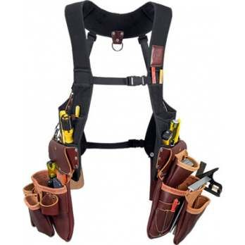 occidental leather 2550 occidental offers this vest system with the best selling leather framing bags the 3 pouch fastener bag offers an angle square hols