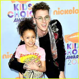 Image result for machine gun kelly and daughter