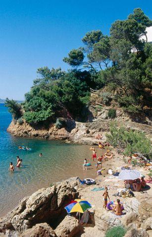 Sa Riera Cove in Begur, Costa Brava, Girona prov. Catalonia.