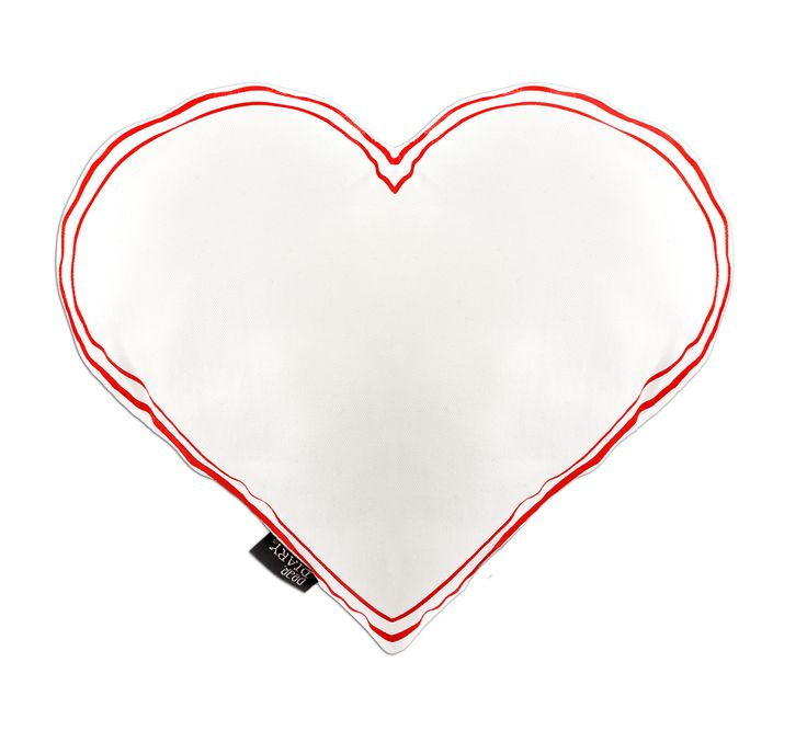 Love is in the Air, heart shaped pillow / cushion   Krinkle Gifts