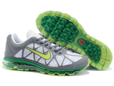 2014 New Air Max 2011 Netty Mens Shoes Discount green grey