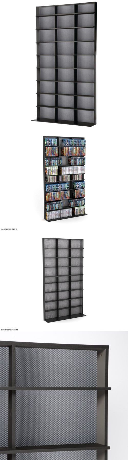CD and Video Racks 22653: New Home Storage Cabinet Media Tower Elite Cd Dvd Rack 9 Fixed Shelf Large Black -> BUY IT NOW ONLY: $77.04 on eBay!