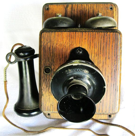 Antique Kellogg Telephone, $148