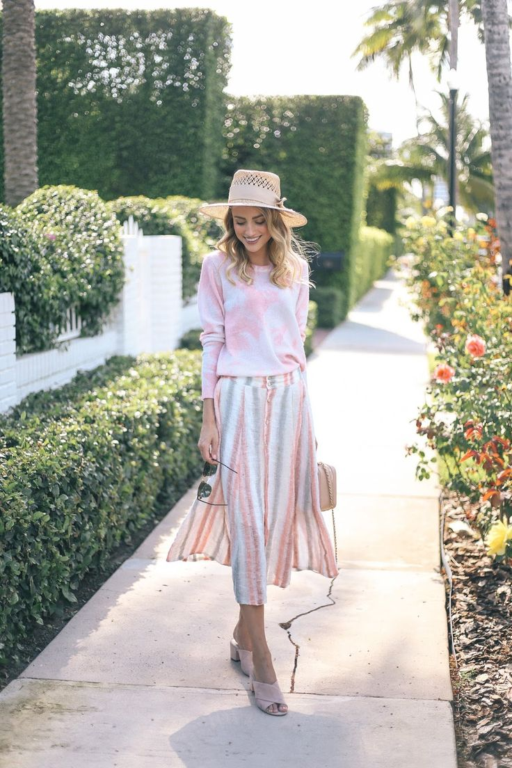 Little Blonde Book A Fashion Blog by Taylor Morgan: Palms and Stripes