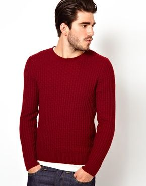 Gant Rugger Jumper with Textured Knit