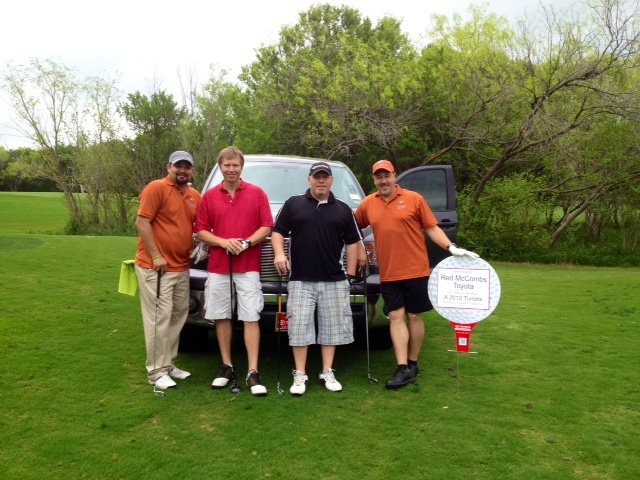 Red McCombs Toyota hole-in-one contest!