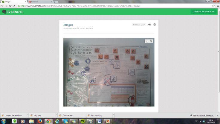 Imagen Evernote. Seguridad en el laboratorio clínico