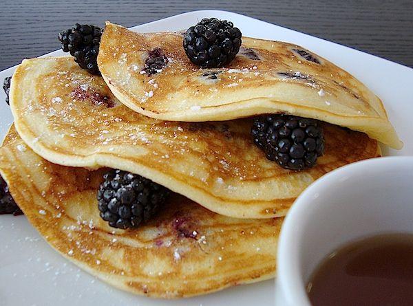 Blackberry Pancakes on Pinterest | Blackberry syrup, Blackberry syrup ...