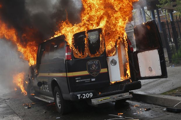 Baltimore's violent protesters are right: Smashing police cars is a legitimate political strategy - It's crucial to see non-violence as a tactic, not a philosophy. If it fails to win people over it's a futile tactic