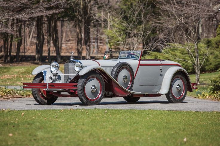 This spectacular Mercedes-Benz 680 S Torpedo Roadster was designed by Ferdinand Porsche and clothed by Parisian...