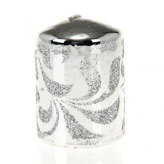 candela argento, cero di Natale 2 | vendita online su HOLYART
