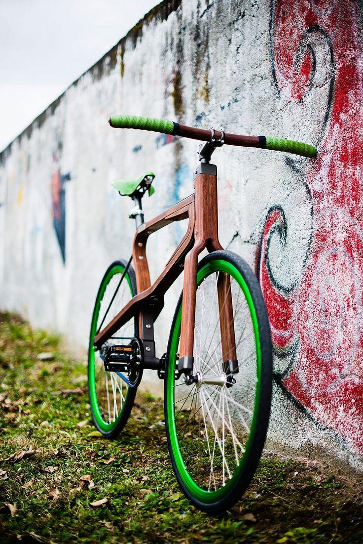 Woobi, Wooden Bicycle by Matteo Zugnoni   Gessato Blog