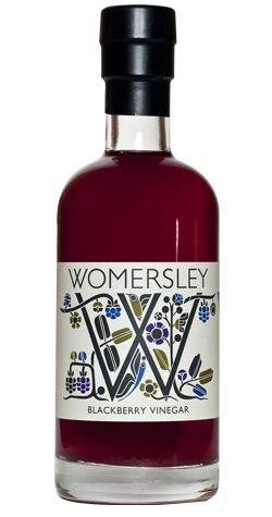 Blackberry vinegar by Womersley Fruit and Herb Vinegars from The Yorkshire Pantry