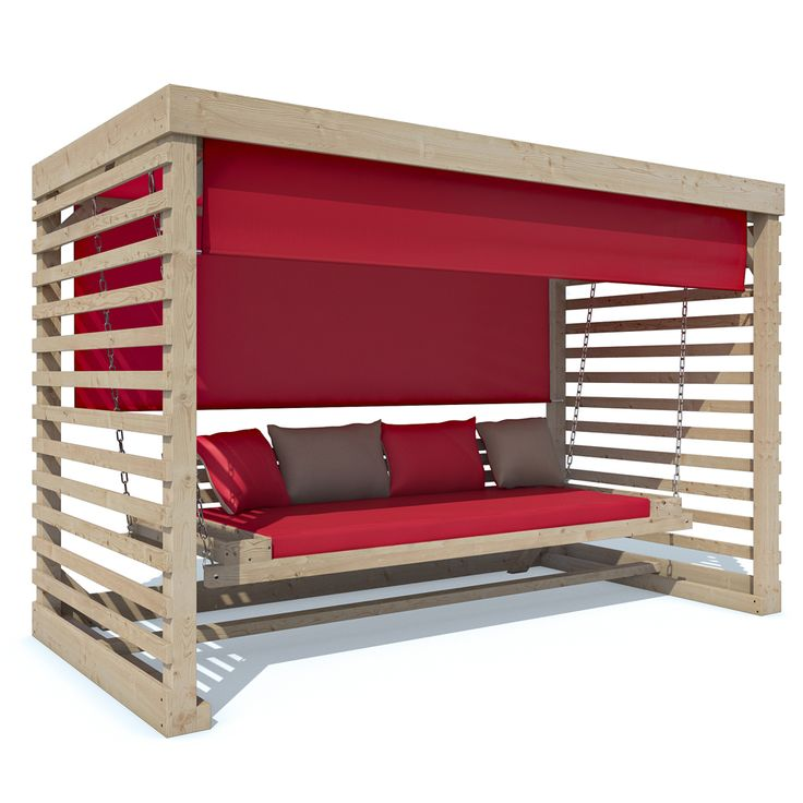 Hollywoodschaukel Tiffany Holz Gartenschaukel Schaukelbank Gartenmöbel 4-Sitzer | eBay