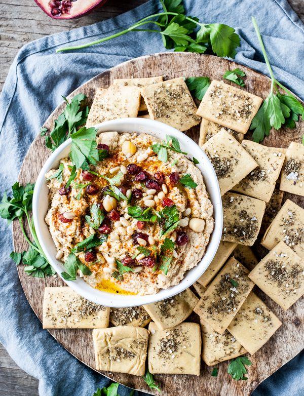 Sweet & Spicy Butternut Harissa Hummus