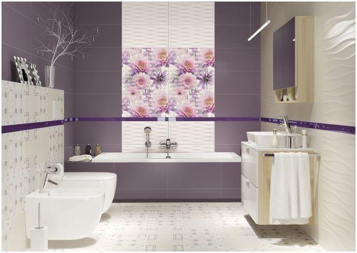 Imagini pentru baie crem cu mov