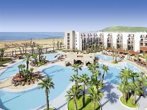 Marokko Atlantische Kust Agadir  Moderne Hotelanlage mit großer Poollandschaft (ein Pool beheizbar) und Sonnenterrasse mit Poolbar. Liegen Schirme Auflagen und Badetücher sind an Pool und Strand inklusive. Empfangshalle mit...  EUR 357.00  Meer informatie  #vakantie http://vakantienaar.eu - http://facebook.com/vakantienaar.eu - https://start.me/p/VRobeo/vakantie-pagina