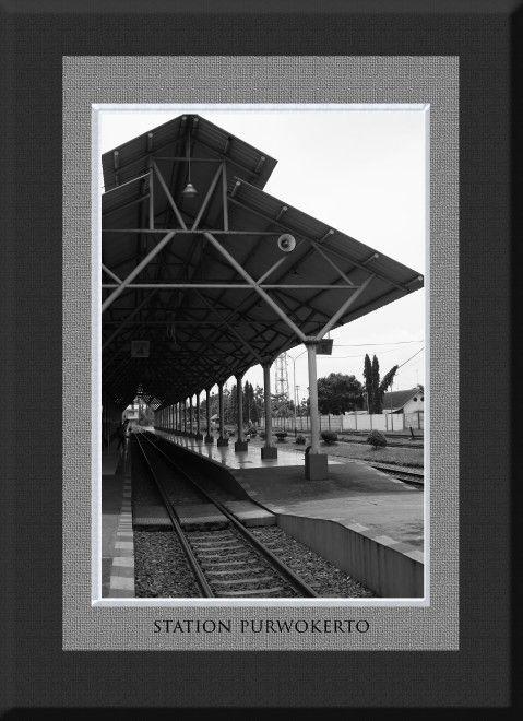 Purwokerto indonesia Stasiun kereta 2016
