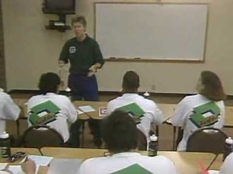 Koach Karl talks to youth soccer coaches using his training methods and the 9-Step Routine