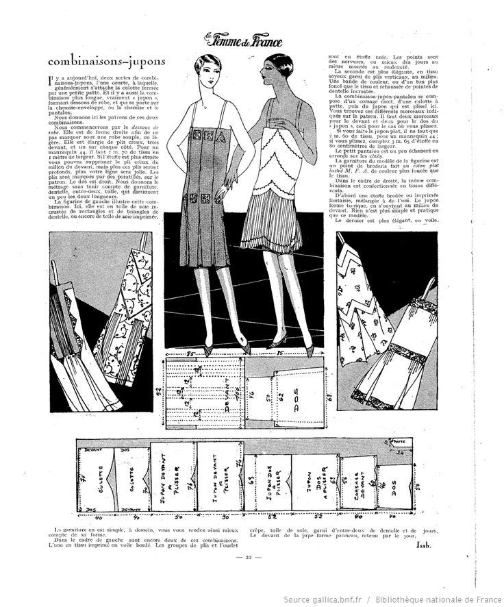 Aout 1927 La Femme de France