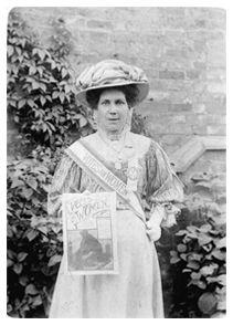 Alice Hawkins -Suffragette