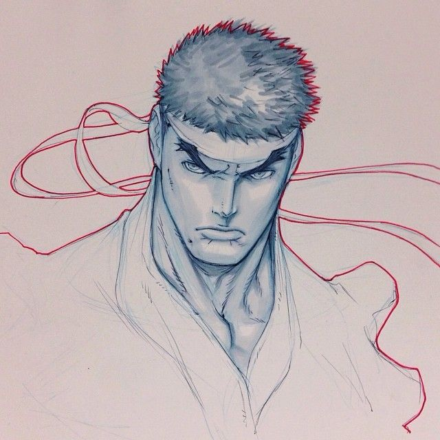 Ryu by Alvin Lee