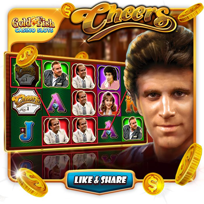 Come play the slot where everybody knows your name! Cheers is our newest slot at Gold Fish Casino!! #goldfishcasino #bigwin #jackpot #slots #goldfishcasinoslots #slotaddict #mobileslots #casino #cheers #happyhour #beer #bar