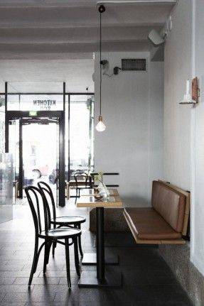Bar and Co. restaurant- can't go wrong with bentwood chairs