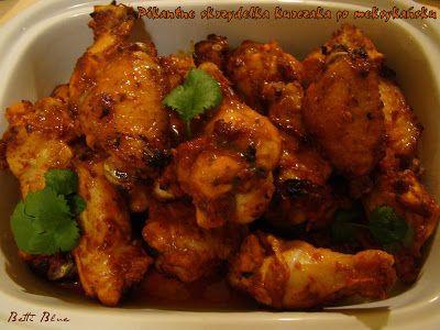 Kuchnia Betti: Pikantne skrzydełka kurczaka po meksykańsku