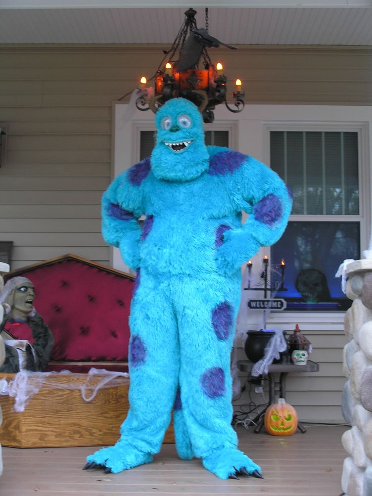 sulley monsters inc costume that i made for halloween - Sully Halloween Costumes Monsters Inc