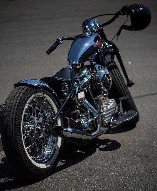 Old School Bobber Motorcycles | Bobber motorcycles and custom bobbers. Sometimes cafe racers. Always ...