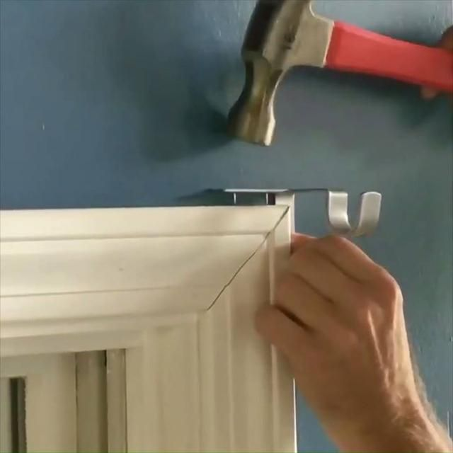 Hang Curtains In Seconds Hanging Curtain Rods Double Rod