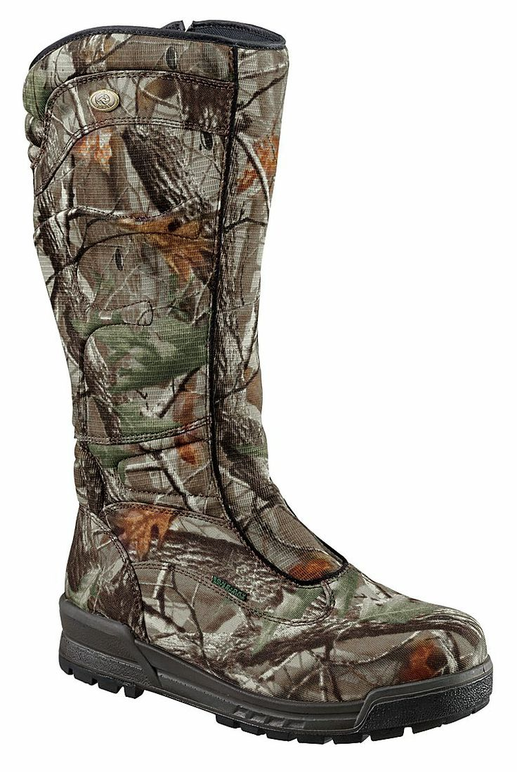 RedHead® 15'' Bayou Zip BONE-DRY® Non-Insulated Camo Snake Boots for Ladies | Bass Pro Shops
