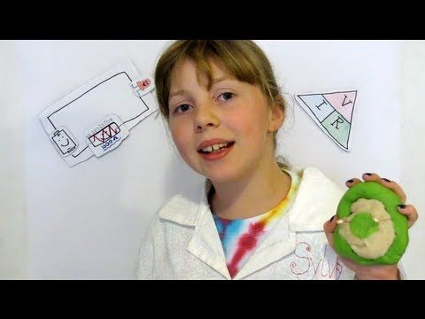 Awesome way to teach kids basics of electronics while playing with play dough...