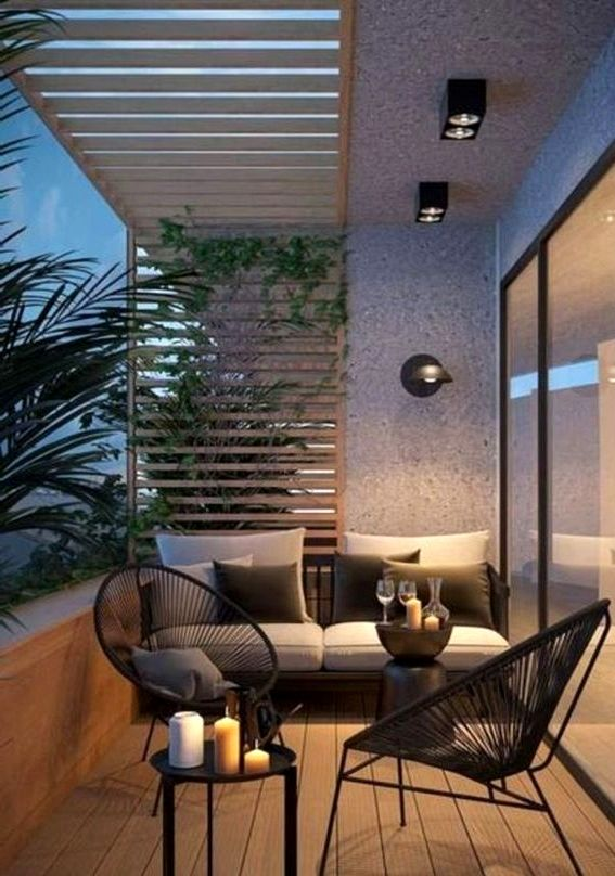 A Backyard Furnishings For The Balcony, Modern Balcony Furniture