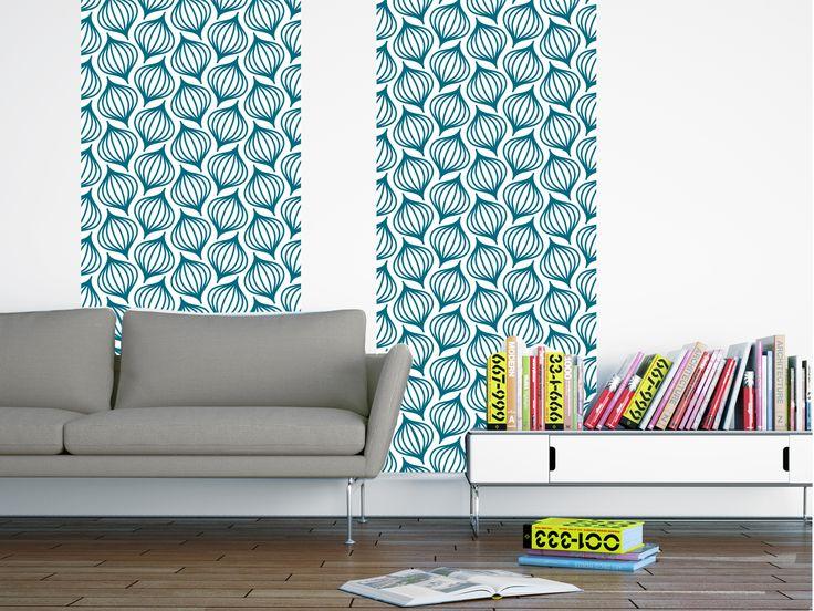 Best 25 papier peint bleu canard ideas on pinterest papier peint bleu gra - Couleur bleu canard deco ...