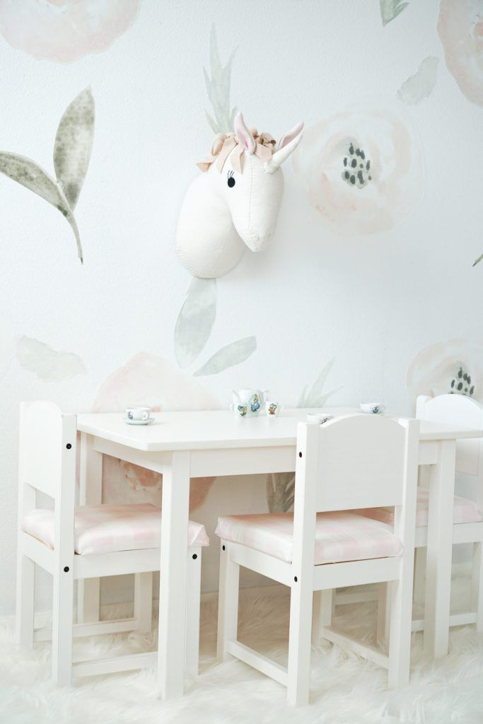 Ikea Toddler Chair Hack Diy Cushion Covers Girly Toddler Room