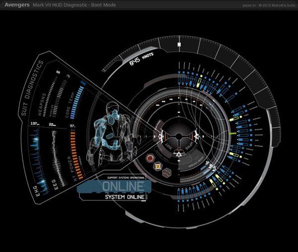 Avengers-UI-Design-11.jpg (600×508): Avengers Ui Design 11 Jpg, Hud Design, Visual Designs, Interactive Design, Design Ui Ux, Design Graphics, User Interface Design, Graphics Design, Ux Design
