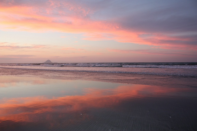 Ohope Beach, New Zealand by Quiltsalad, via Flickr
