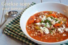 Toe aan een vitamineboost? Dan is dit je soep! In deze Griekse soep gaan lekker…