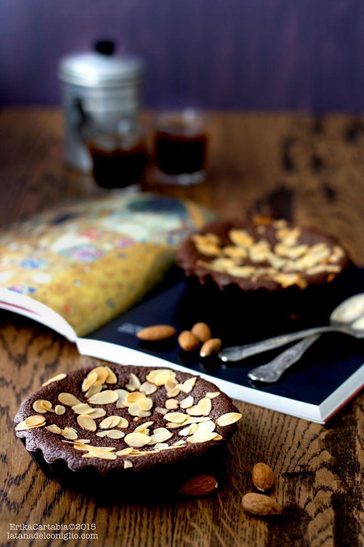 La tana del coniglio: Financiers mandorle e cacao (senza glutine)