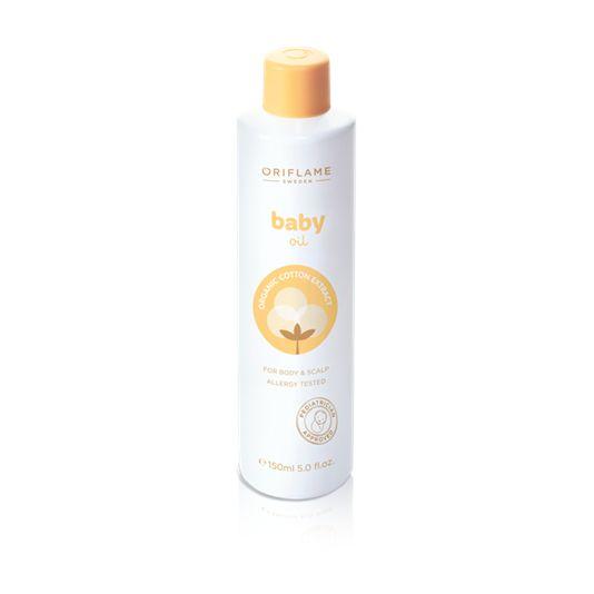 Aceite Hidratante Baby (25283) Suave aceite de masaje relajante con aceites naturales que protegen y cuidan la delicada piel del bebé. Previene la sequedad, suaviza y acondiciona la piel con aceite de semilla de Girasol.