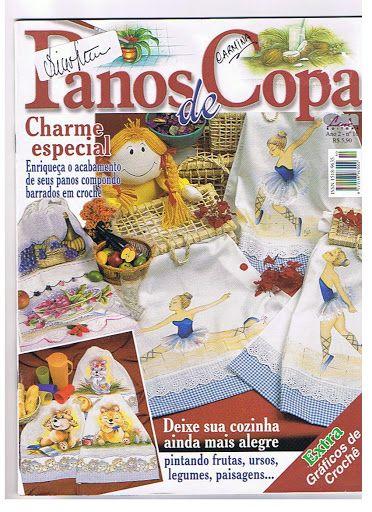 PINTURA EM TECIDO Nº 1 ANO 2(PANOS DE COPA) COLOCAR DATRA - Aparecida Zaramelo - Picasa Web Albums