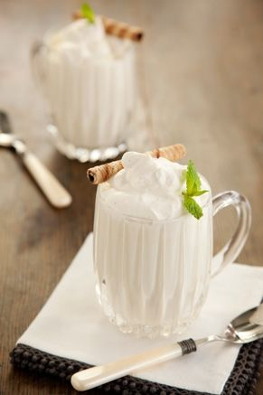White chocolate hot chocolate
