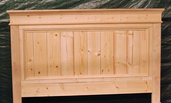 17 Best ideas about Painted Wood Headboard on Pinterest