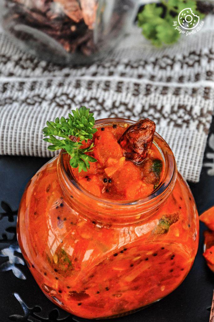 Rajasthani Tomato Mustard Garlic Chutney