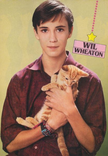 WIL WHEATON (I couldn't not.)