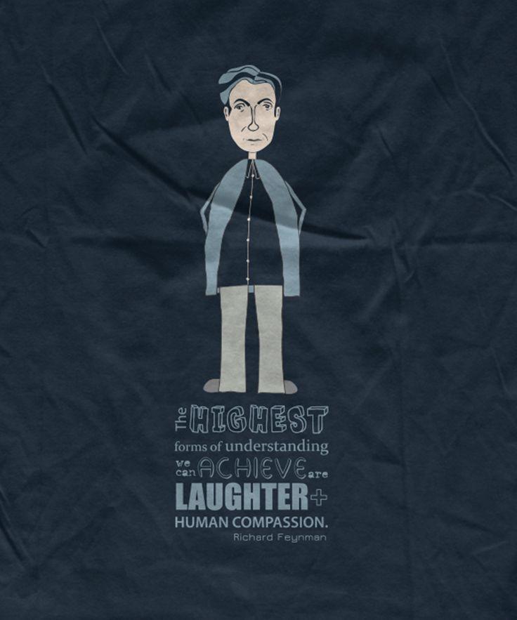 Feynman organic t-shirt, by Rooftop.