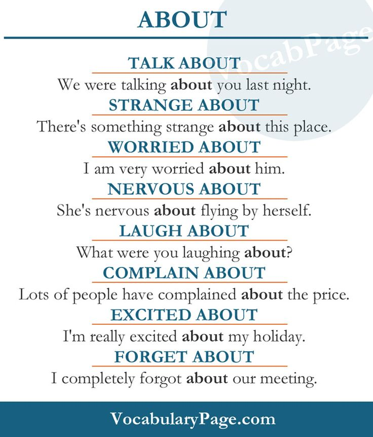 About #English www.vocabularypage.com